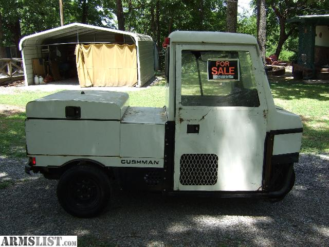 ARMSLIST - For Sale/Trade: 1999 Cushman Truckster