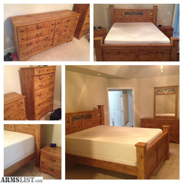 ARMSLIST For Sale Trade Ashley Complete Queen Size Bedroom Set