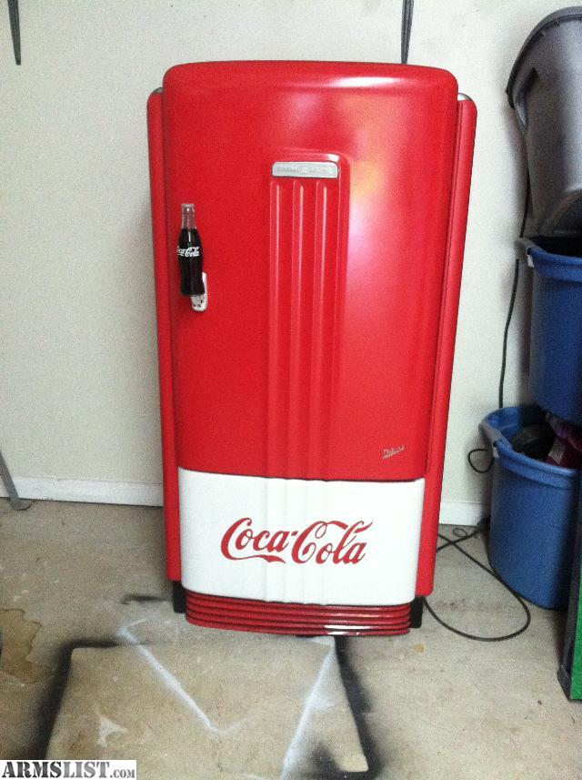 Man Cave Refrigerator For Sale : Armslist for sale trade vintage coke refrigerator