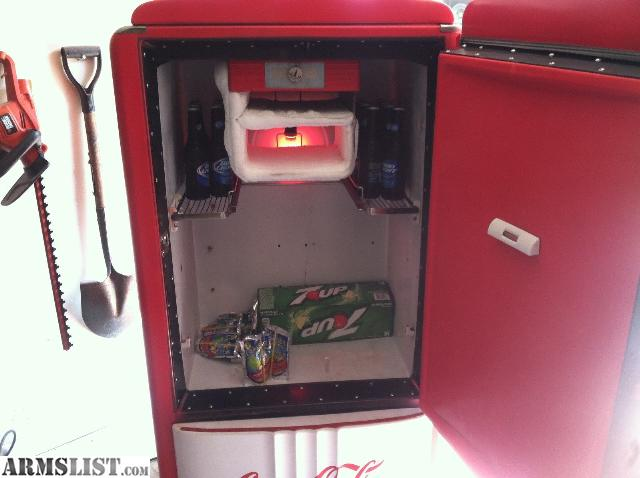 Man Cave Refrigerator For Sale : Armslist for sale trade vintage coke refrigerator man cave