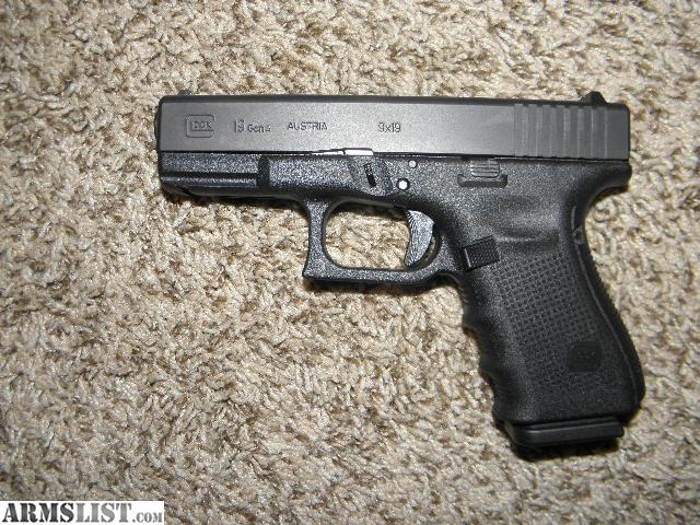armslist for sale glock 19 gen 4 with 3 holsters