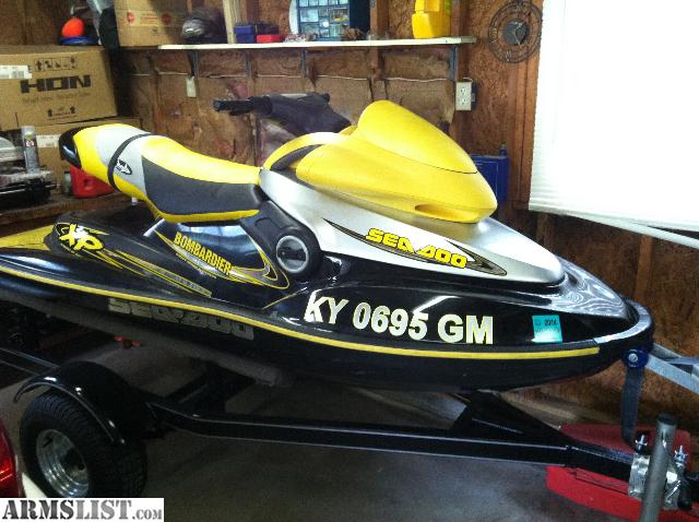 armslist for sale trade 2000 sea doo xp with trailer. Black Bedroom Furniture Sets. Home Design Ideas