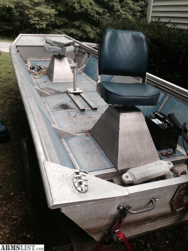 Armslist for sale trade 15 ft fishing jon boat with motor for Fish finder for jon boat