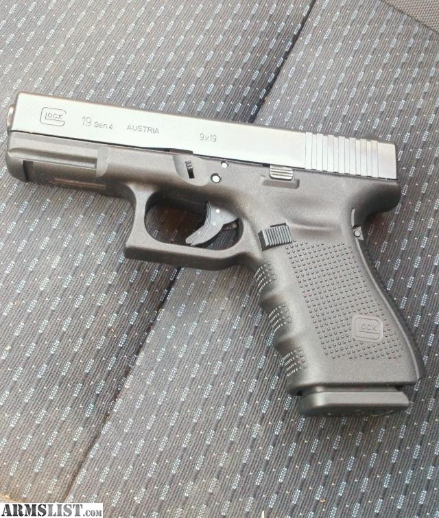 armslist for sale glock 19 gen4 9mm with holster
