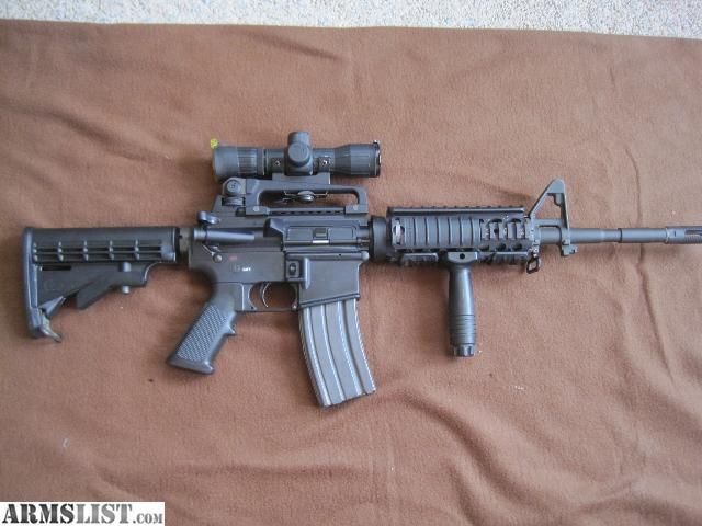 For Sale: Bushmaster 223-5.56 Mm XM15-ES2