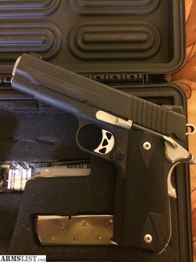 ARMSLIST - For Sale/Trade: Sig Sauer 1911 Nightmare Carry ...