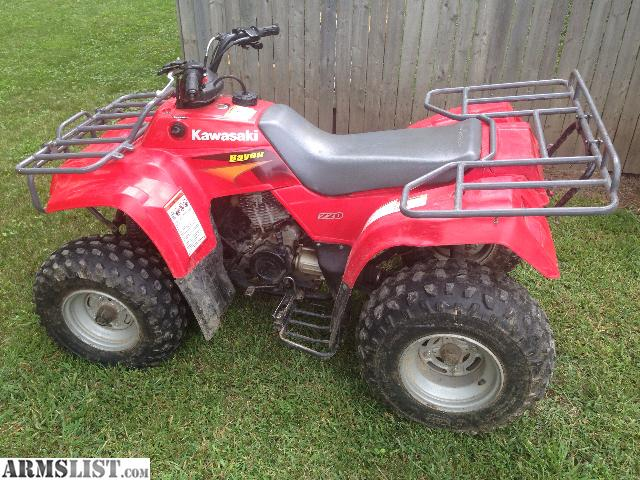ARMSLIST - For Sale/Trade: 2000 Kawasaki bayou 220