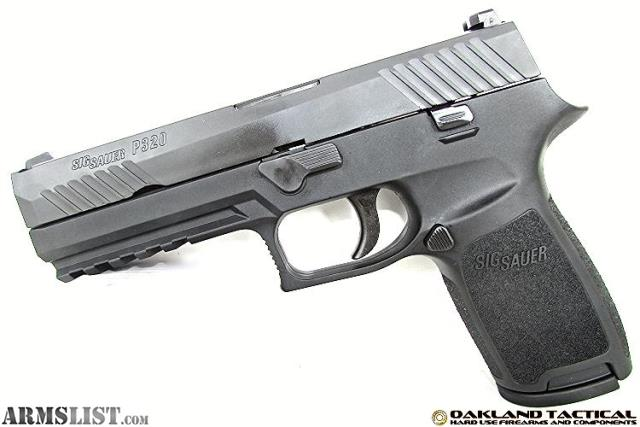 ARMSLIST - For Sale: (New) Sig Sauer P320 Full Size 9mm MFG # 320F-9-B