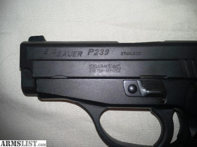 Armslist For Sale Sig Sauer P239 9mm Steel Frame