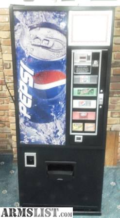 how to open pepsi vending machine door