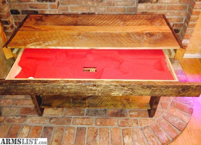 Armslist For Sale Ar 15 Hidden Compartment Sofa Table Gun Storage