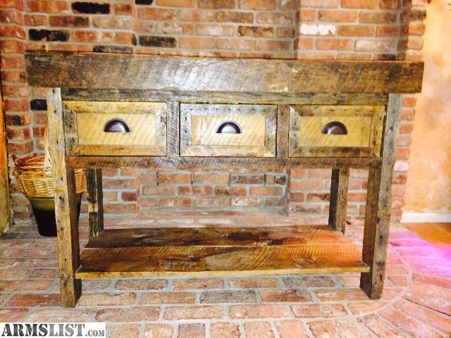 ARMSLIST For Sale AR 15 hidden partment sofa table