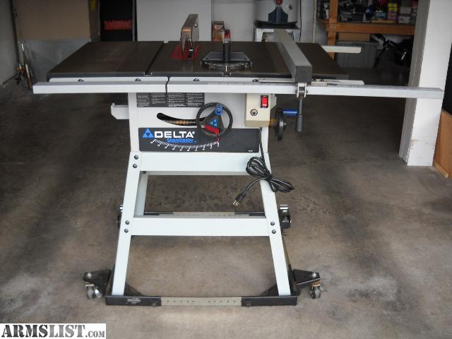 Armslist for sale delta shopmaster 10 table saw for 10 inch table saws for sale