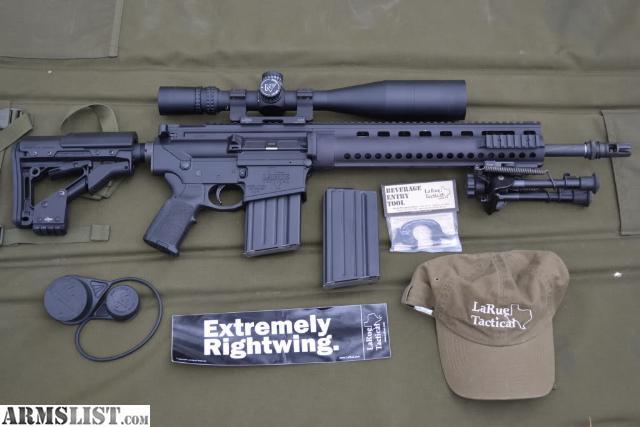 Eye Candy: LaRue Chris Costa Edition OBR Rifle