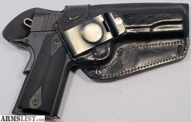 Let's see your IWB holster  : 1911