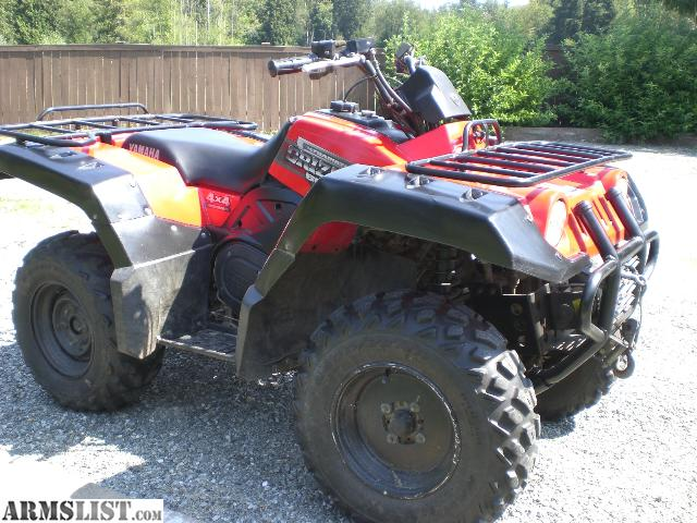 armslist for sale 2000 yamaha grizzly 600 4x4