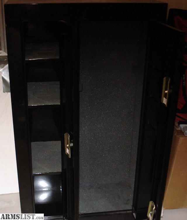 ARMSLIST - For Sale: Homesafe gun cabinet or safe 100