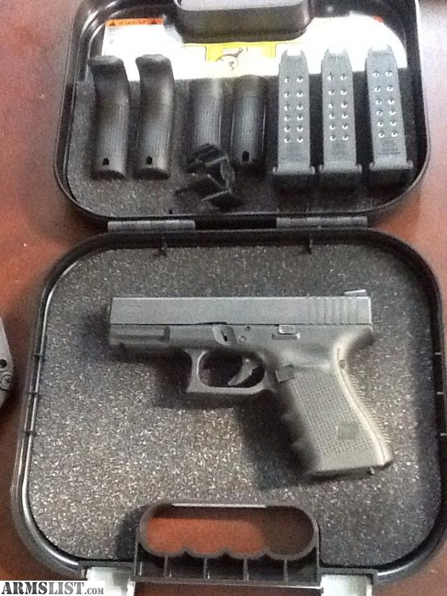 armslist for sale glock 19 gen 4 wkydex holster
