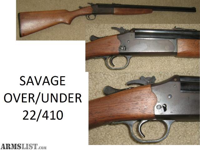 Savage Model 24: Rfile over shotgun - Guns.com