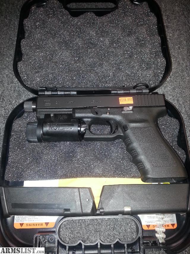 ARMSLIST - For Sale/Trade: Custom Glock 21SF W Extras