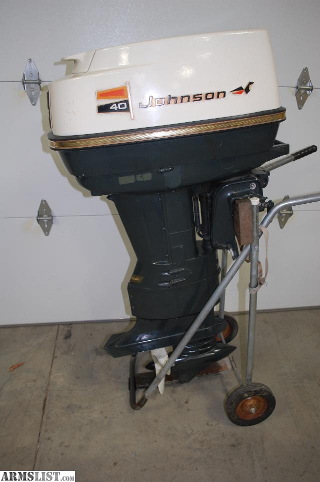 40 hp johnson outboard motor manual