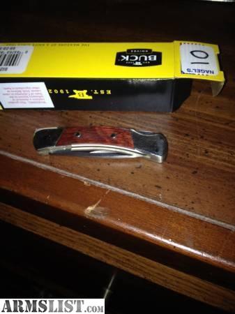 Armslist For Sale Nib Buck Knight Knife