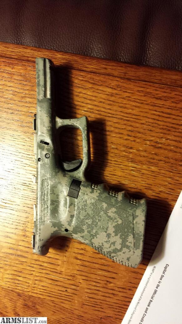 ARMSLIST - For Sale: Custom Glock 23 Frame