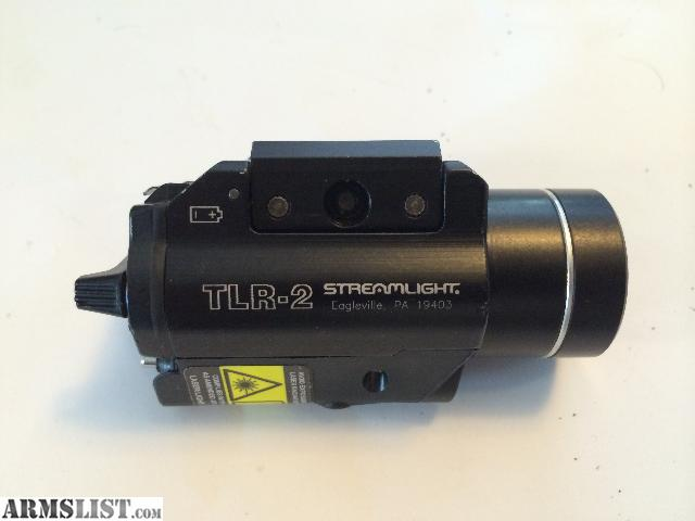 for sale streamlight tlr 2 light laser combo weaponlight led. Black Bedroom Furniture Sets. Home Design Ideas
