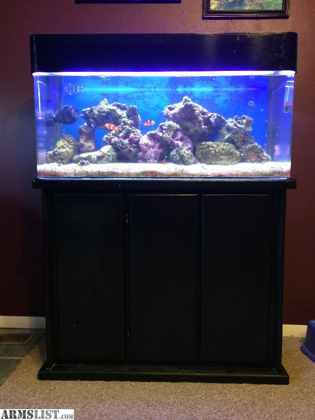 Armslist For Sale Trade 40 Gl Acrylic Reef Aquarium