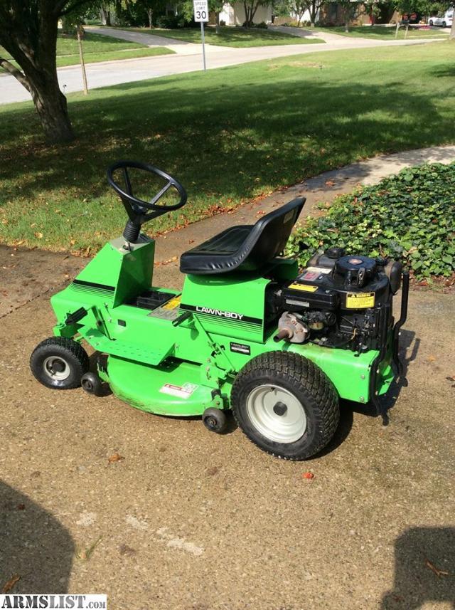 armslist for sale lawn boy riding lawn mower. Black Bedroom Furniture Sets. Home Design Ideas