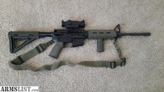 Good Up For Sale Is My Ar15, It Has Less Than 200rds Through It. The Lower Is A  Spikes Tactical With A Cmmg Parts Kit, Right Hand Sling Mount, Magpul Moe  Stock ...