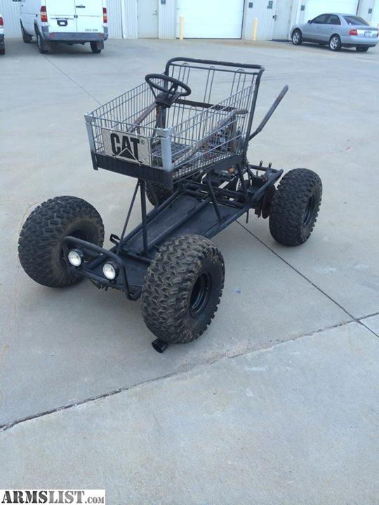 Armslist For Sale Trade Motorized Shopping Cart