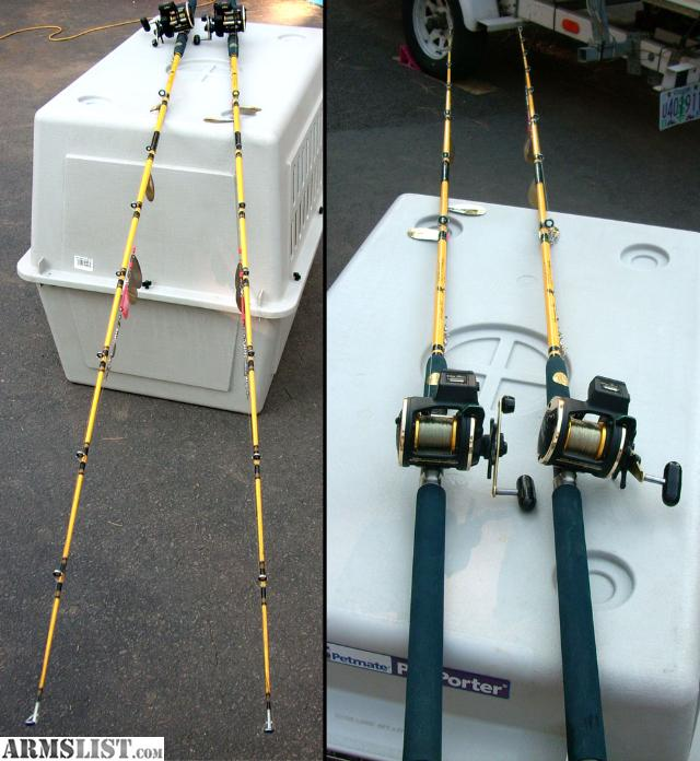 Armslist for sale 2 daiwa sg27lca line counter fishing for Fishing line for sale