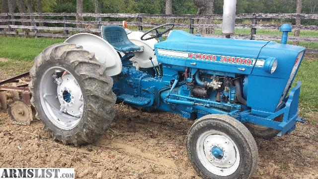 Ford 3000 Gas : Armslist for sale ford tractor low hrs