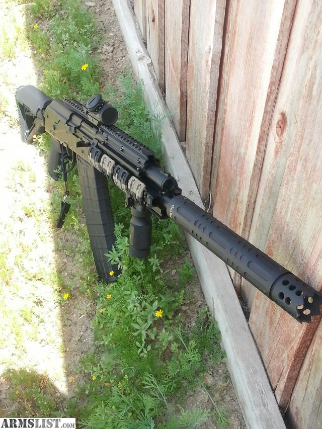 Armslist for sale saiga 12 shotgun guntec barrel for 12 gauge door breacher