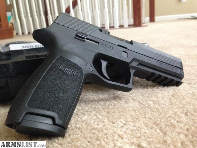 ARMSLIST - For Sale: SIG Sauer P320 Full Size 9mm w/ 4 Magazines