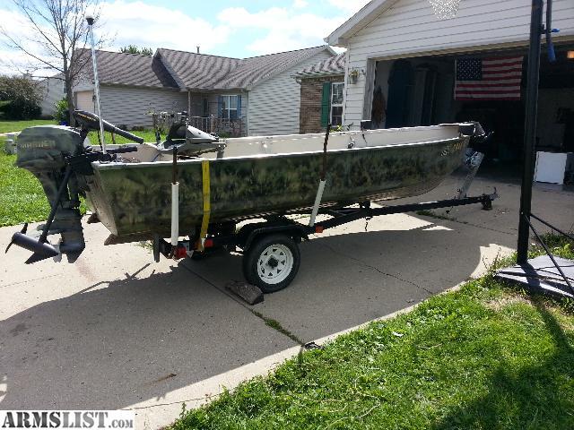 Armslist for sale 14 ft simi v boat for Craigslist fishing gear