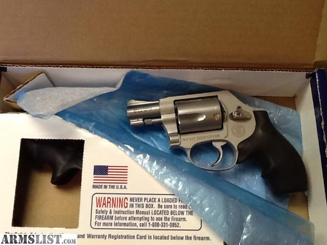 For Sale/Trade: Collectors gun model 637 Airlight s&w 38 gun smoke ...