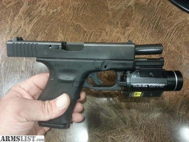 ARMSLIST - For Sale: lnib gen 4 Glock 19 w/ streamlight ...