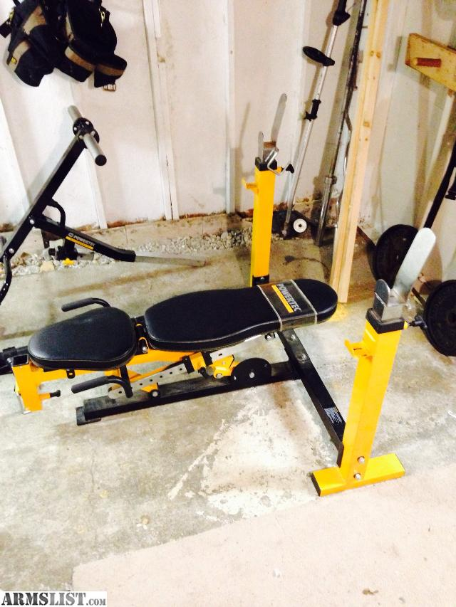 Armslist For Sale Powertec Olympic Weight Bench