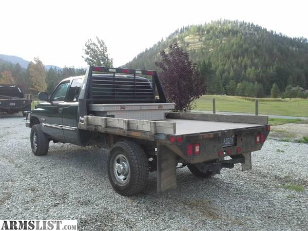 armslist for sale 1999 dodge 2500 turbo diesel flatbed. Black Bedroom Furniture Sets. Home Design Ideas
