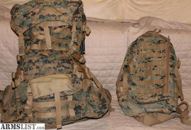 ARMSLIST - For Sale: Military Surplus USMC ILBE backpack with ...