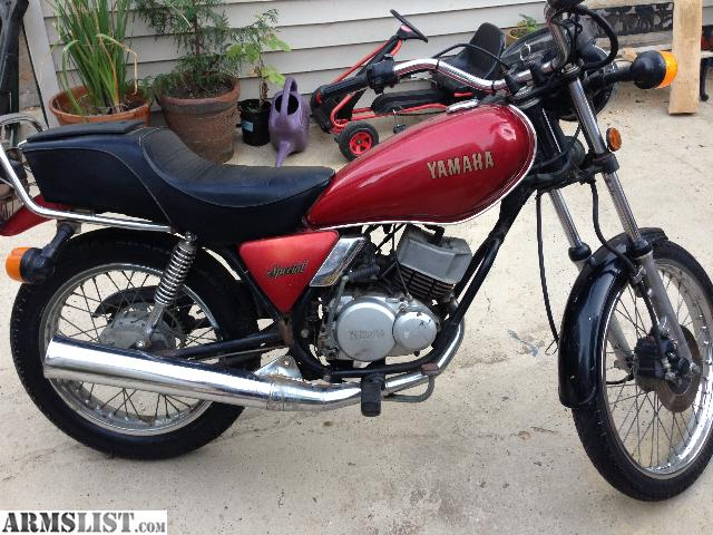 Armslist for sale 1982 yamaha 250 street cafe motorcycle for Yamaha 250 scrambler for sale