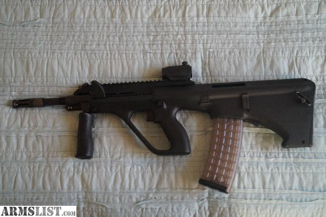 Armslist for saletrade steyr aug a3 like new steyr aug a3 bought it when i moved back to the us from germany and never use it has exactly 200 rounds through it has a rat worx left handed voltagebd Gallery