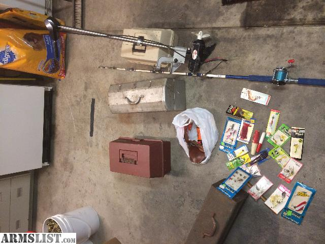 Armslist for sale vintage fishing gear trolling motor for Fishing stuff for sale