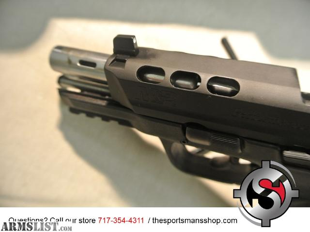 Armslist for sale smith wesson m p 9mm performance for M p ported core 9mm
