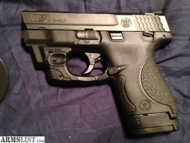 ARMSLIST - For Sale: Smith&Wesson M&P Shield 40.CAL with ...