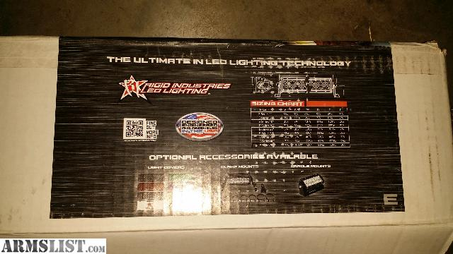 Armslist for saletrade rigid industries 50 led light bar rigid industries 50 led light bar only mounted once to make sure it worked still have the box and all paperwork comes with flush mounts and everything aloadofball Gallery