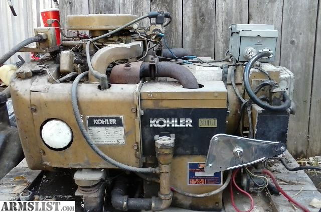 ARMSLIST - For Sale: Kohler 7000 generator