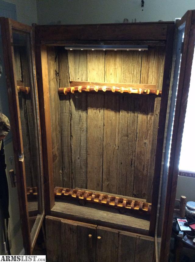 Armslist For Sale Barn Board Gun Cabinet